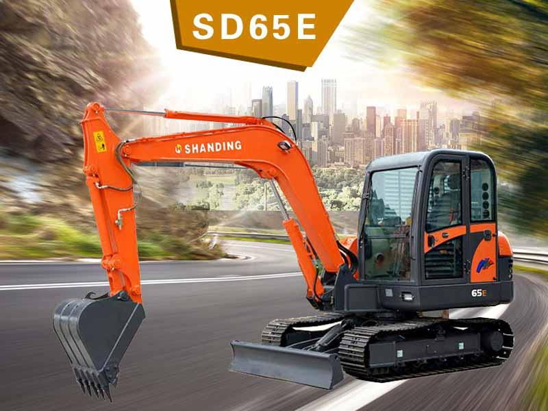 SD65E履帶挖掘機
