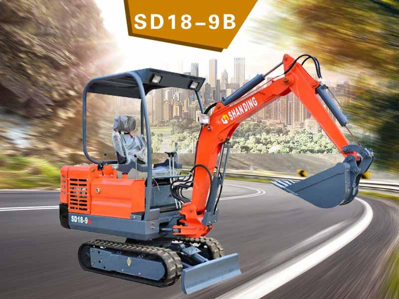 SD18-9B履帶挖掘機