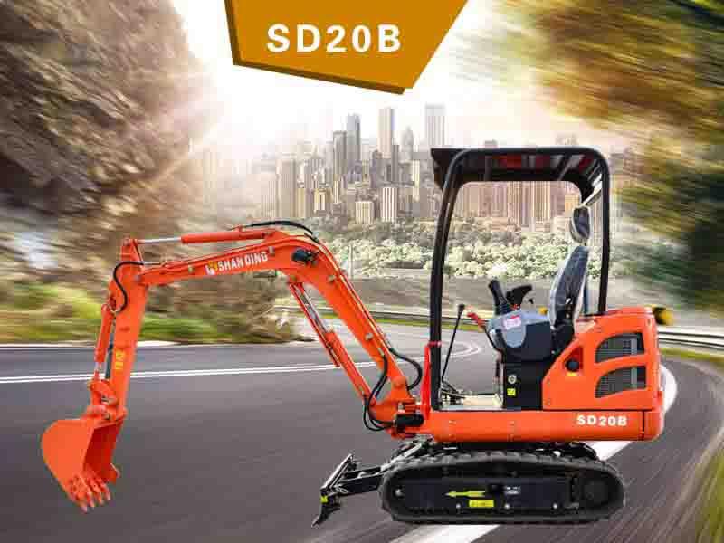 SD20B履帶挖掘機