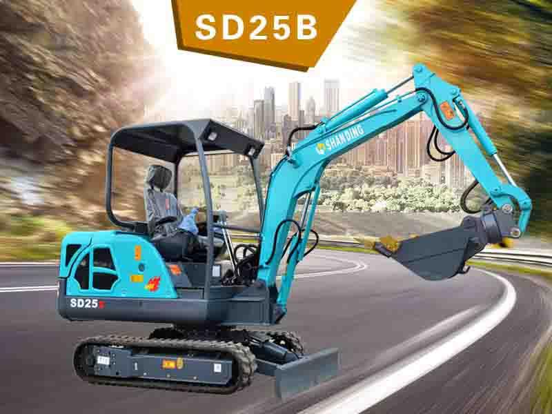 SD25B履帶挖掘機