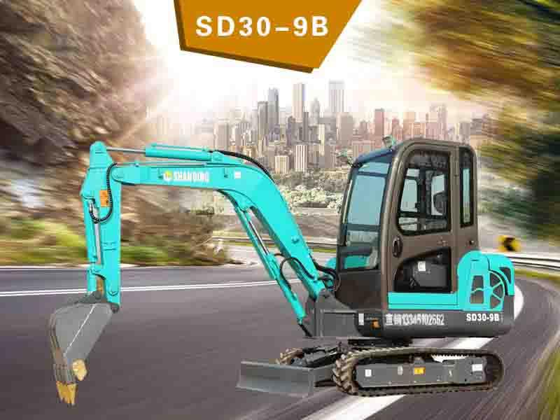 SD30-9B履帶挖掘機