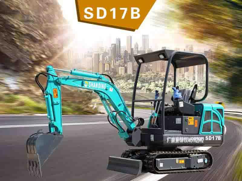 SD17B履帶挖掘機