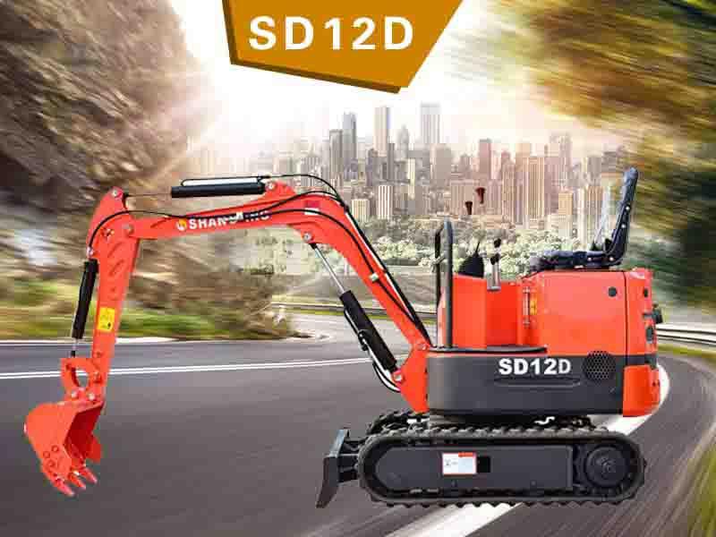 SD12D履帶挖掘機